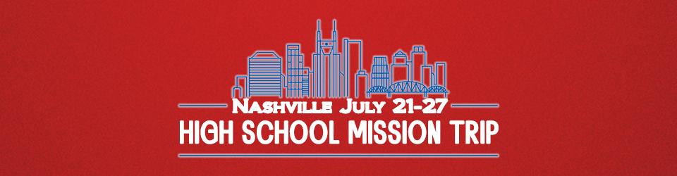 high school mission trip 2019 event