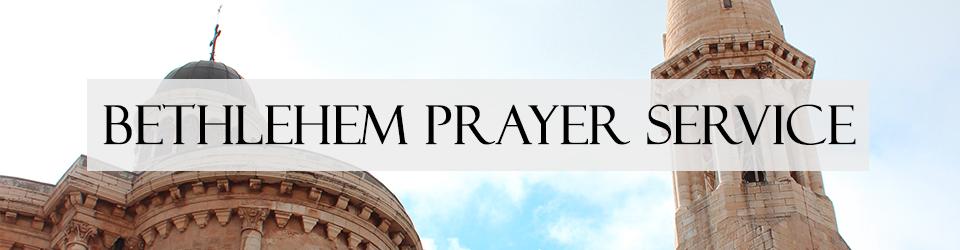 Bethlehem Prayer Service event
