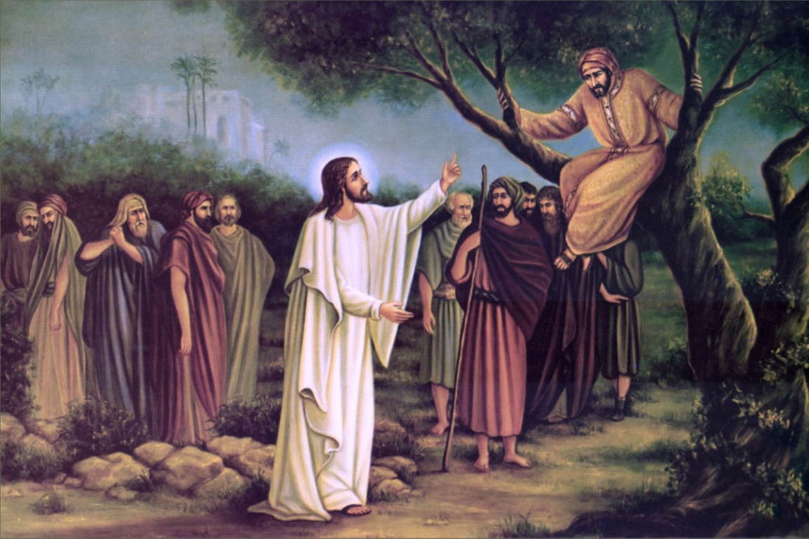 Going Out on a Limb for Jesus with Zacchaeus
