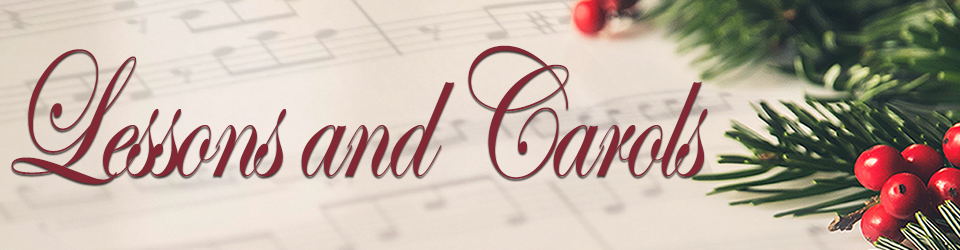 lessons and carols event