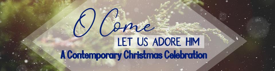 Contemporary Christmas Worship event