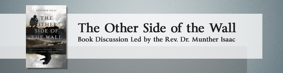 Other Side of Wall Book Discussion event