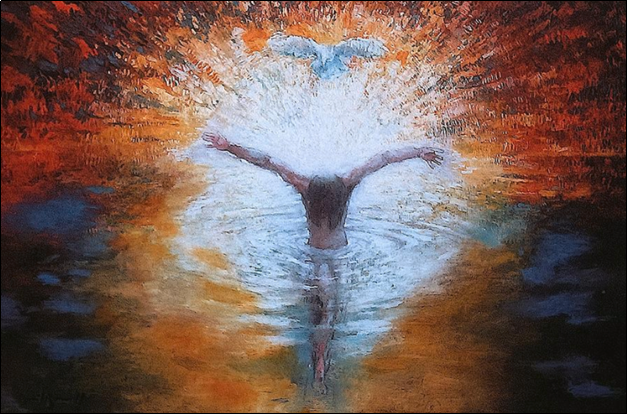 The Baptism of the Christ by Daniel Bonnell