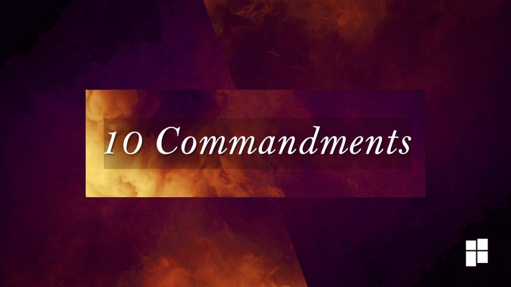 stepby step 10 Commandments