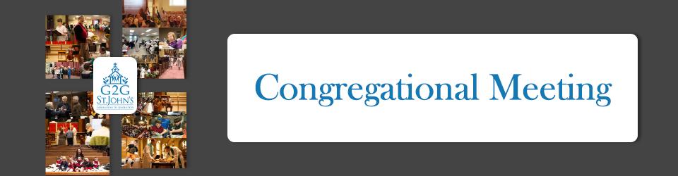 G2G Congregational Meeting event