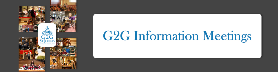 G2G INformation Meetings event