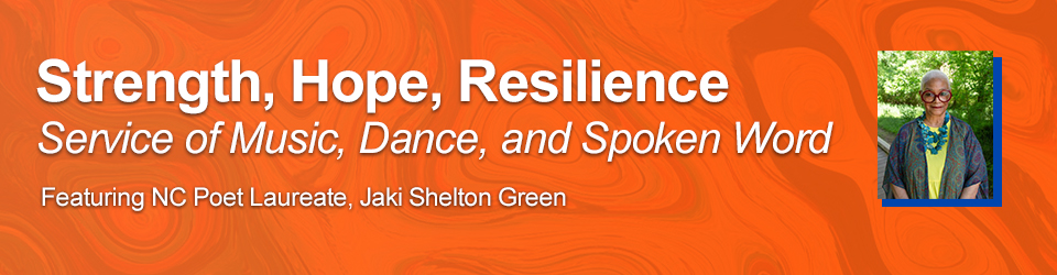 Strength Hope Resilience event
