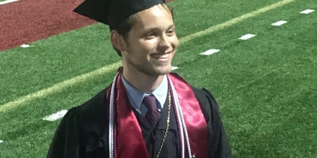 Carter graduated in May from Lenoir-Rhyne University with a degree in political science.