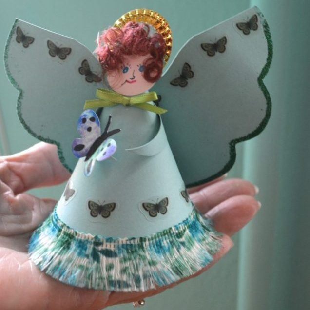 The Chrismon ladies named this one the Hula Angel!