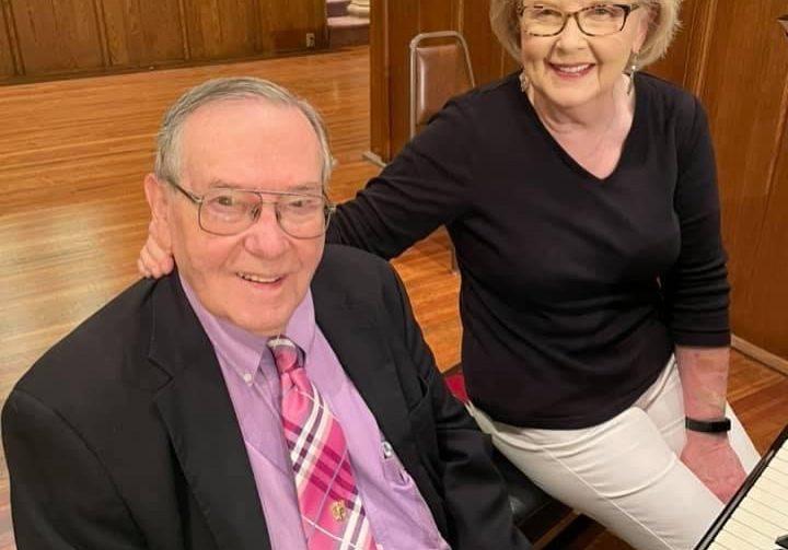 Rosemary and Karl Kinard