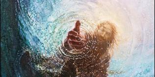 The Hand of God by Yongsung Kim