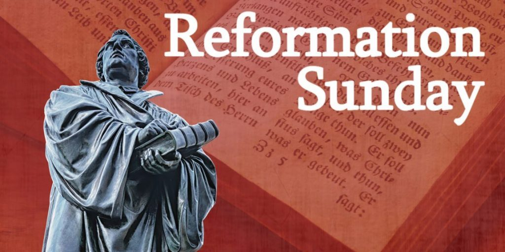 reformation sunday Sermon